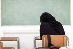 Arabian school girl Royalty Free Stock Photo
