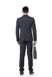 Rear view of Asian businessman Royalty Free Stock Image