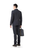 Rear view of Asian businessman Royalty Free Stock Photo