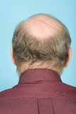Rear view of balding man Royalty Free Stock Image
