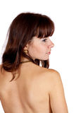 Rear view of  beauty girl Royalty Free Stock Images