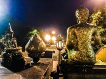 The Golden Buddha at Phra Pathom Chedi royalty free stock photo