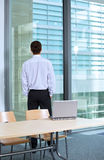 Rear view of businessman Royalty Free Stock Photos