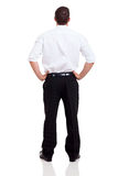 Rear view businessman Stock Photos