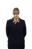 Rear view of businesswoman Stock Images
