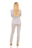 Rear view of businesswoman Royalty Free Stock Image