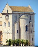 Rear view Cathedral of Trani (BA) Stock Photo