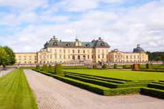 Rear View Drottningholm Stock Photo