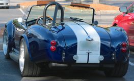 Rear view of 1969 Ford Shelby Cobra Royalty Free Stock Image