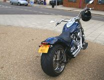 Rear view of Harley Spider Bike Royalty Free Stock Image