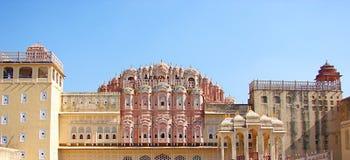 Rear View of Hawa Mahal Palace, Jaipur, Rajasthan, India royalty free stock photos