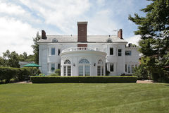Rear view of luxury home Stock Photography