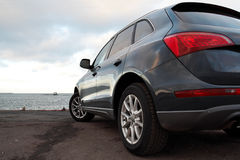 Rear view of a luxury SUV Royalty Free Stock Photography