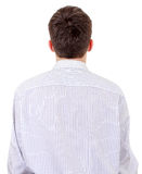Rear view of the Man Royalty Free Stock Photography