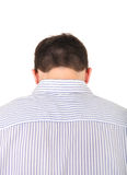 Rear view of the Man Stock Photo