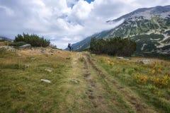 Summer hiking in Rila Mountains stock photos