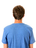 Rear View of the Man Royalty Free Stock Photos