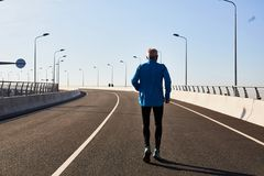 Man jogging Royalty Free Stock Photos