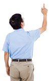 Rear view of man pointing Royalty Free Stock Photography