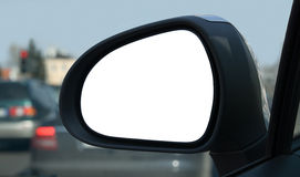 Rear view mirror Stock Photos