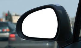 Rear view mirror. Left side rear view mirror Stock Photos