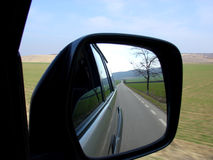 Rear View Mirror.  royalty free stock photography