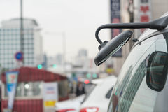 Rear view mirror Royalty Free Stock Photography