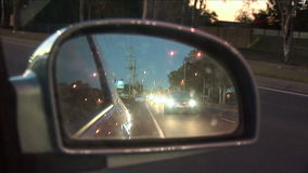 Rear View Mirror stock video