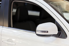 Rear view mirror Royalty Free Stock Images