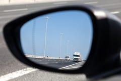 Rear-view mirror Stock Photos