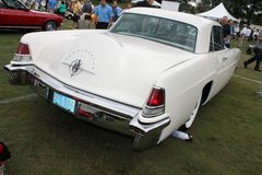 Rear view fifties lincoln continental Stock Images