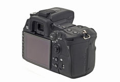 Rear view of professional Dslr camera Royalty Free Stock Photo