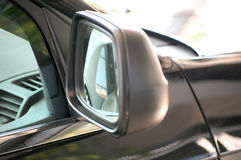 Rear-view side mirror Royalty Free Stock Photos