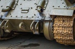Rear view of the tank. Royalty Free Stock Image