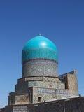 Rear view of Tilya-Kori mosque, part of Tilya-Kori Madrasah Stock Images
