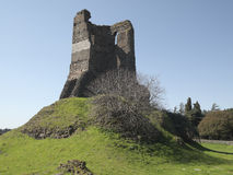Rear view of Torre Selce, Appia Antica Royalty Free Stock Photos