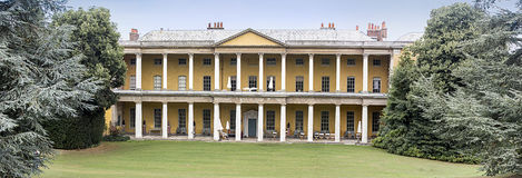 Rear View of  West Wycombe Park Royalty Free Stock Photography