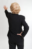 Rear view of a woman extending her hand Royalty Free Stock Photography