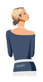 Rear view of woman Royalty Free Stock Photo