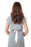 Rear view of young female Royalty Free Stock Image