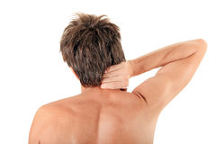Rear View of Young Man Royalty Free Stock Images