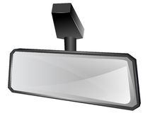 Rear viewer mirror Royalty Free Stock Photos