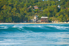 Rear Wave Hotels Unawatuna Surf Spot Sri Lanka Royalty Free Stock Photos