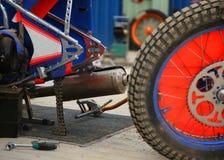 Rear wheel Royalty Free Stock Photos