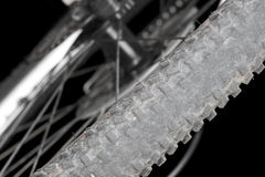 Rear wheel mountain bike. Royalty Free Stock Photography