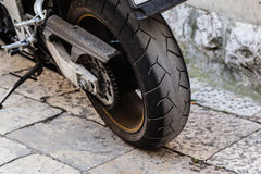 Rear wheel Royalty Free Stock Photography