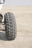 Rear wheel of a Quad Royalty Free Stock Photo