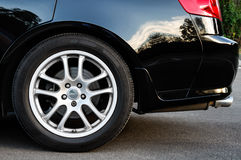 Rear wheel Royalty Free Stock Images