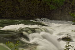 Rearguard Falls in Fraser River, west Canada Stock Photography