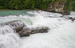 Rearguard falls of the Fraser River Stock Photo